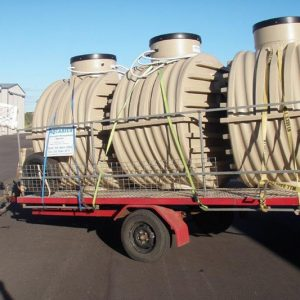 Water Tanks Trailer
